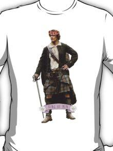 Jamie Fraser Flower Crown T-Shirt