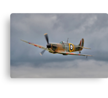 Guy Martin`s Spitfire 1 Canvas Print