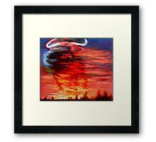 bull toro Framed Print