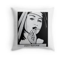 SISTA MARYJANE Throw Pillow