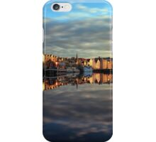 45 Second Long Exposure of the Sunset over the Shore, Edinburgh iPhone Case/Skin