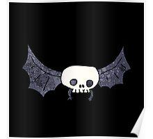 Spooky bat Poster