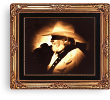"""Country Legend ... """"The Southern Boy"""" Canvas Print"""
