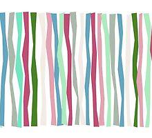 Past Traces Pantone 2015 Color Sticks by Patricia Lintner