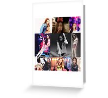 JESSICA JUNG COLLAGE Greeting Card
