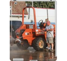 Hosing the Ditch Witch iPad Case/Skin