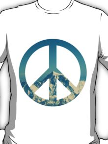Peaceful Mountains T-Shirt