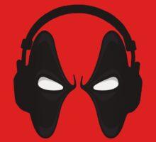 Headset Deadpool - Marvel by marcoluigi92