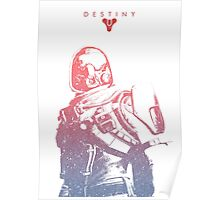 Destiny Hunter Poster