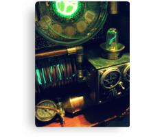 Steampunk Time Machine 1.0 Canvas Print