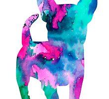 Chihuahua 6 by Watercolorsart