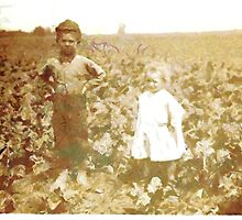 Six-year old Henry and three-year old Hilda, Beet Workers, USA by Dennis Melling