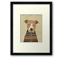 pit bull days Framed Print