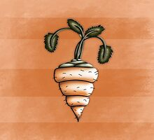 Carrot Illustrated Differently by YoPedro