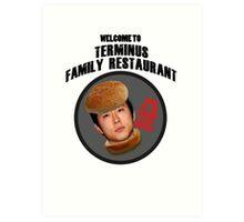 Terminus Family Restaurant Art Print
