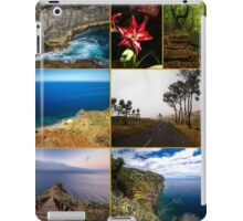 Collage from Portugal (Madeira) - Travel Photography iPad Case/Skin