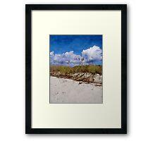 Southern Sands Framed Print