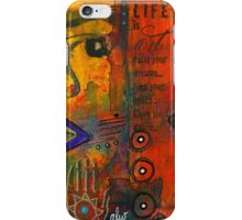 Paint Your Dreams, Ms Angela iPhone Case/Skin