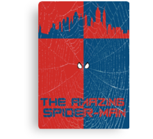 The Amazing Spider-Man Minimalist Poster Canvas Print