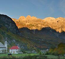 Mountain Sunrise - Theth, Albania by Kasia Nowak