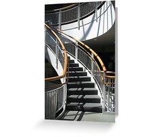 Stairway Shadows Greeting Card