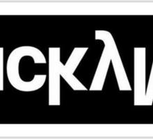 LuckyMe Text Logo Sticker