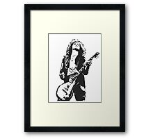Jimmy Page Led Zeppelin Framed Print