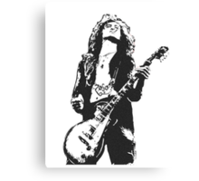 Jimmy Page Led Zeppelin Canvas Print
