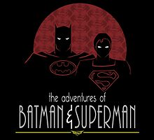 the adventures of batman&superman by seingalad