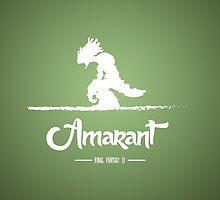 Amarant - Final Fantasy IX by moombax