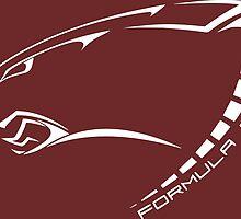 Florida Tech Formula Panther (White Logo) by FloridaTechFSAE