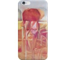 David Bowie meets Salvador Dali iPhone Case/Skin