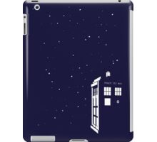 Tardis starry night iPad Case/Skin
