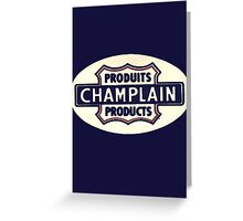 Champlain Products 1949 Greeting Card
