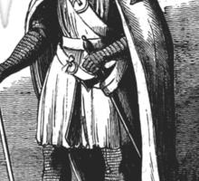 A Knight Templar Sticker
