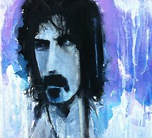 Frank Zappa Portrait by William Wright