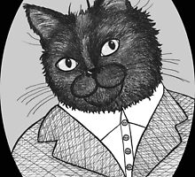Maurice The Cat by BettyRocksteady