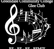 Greendale Glee Club (dark) by ilonabelle