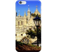 A Glimpse of Exeter Cathedral iPhone Case/Skin