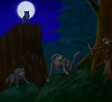Wolves by Egberto