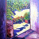 Artists Studio  by Virginia McGowan