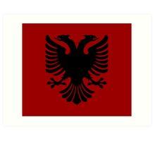 Albanian Eagle / Flag Art Print