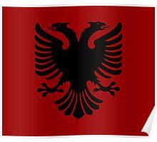 Albanian Eagle / Flag Poster