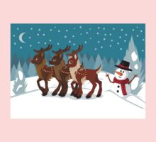 Reindeer in the Snow Kids Clothes