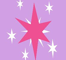 Twilight Sparkle Cutie Mark by Kaylibella