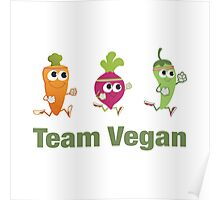 Team Vegan Poster