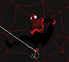 Ultimate Spiderman Miles Morales by valeriecsdesign