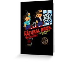 Supernatural Bros. 2 Greeting Card