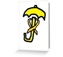Umbrella Revolution - Have Hope Greeting Card