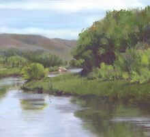 Upper Leasy River by ixie